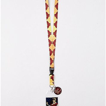 Bombshell Wonder Woman Lanyard - DC Comics - Spencer's