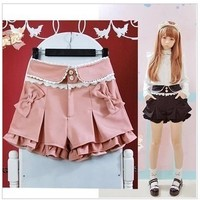 Princess Lace Vintage Inspired Pink Shorts from Moooh!!