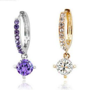 ONETOW New fashion earrings jewelry jewelry zircon earrings