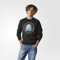 adidas Spaceman Sweatshirt - Black | adidas US