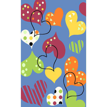 Fun Rugs Night Flash Collection Area Rug