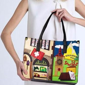 Animated Embroidery Tote