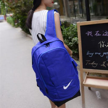 """Nike"" Casual Style Lightweight Fashion Backpacks School Backpack Travel Bag"