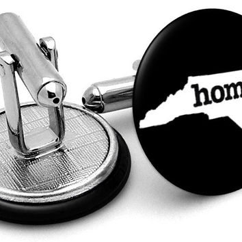 North Carolina Home State Cufflinks