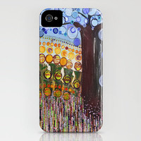 :: Indiana Blue Willow :: iPhone Case by GaleStorm Artworks | Society6
