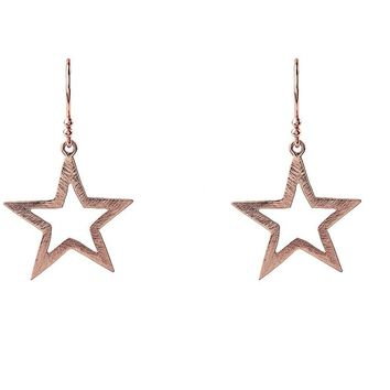 Large Open Star Earring