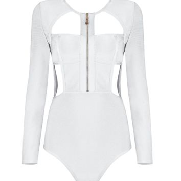 Ray White Bodysuit