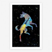 Astronaut Dog Laika | Posters, Giclee Prints and Art Prints | HUMAN