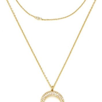 BaubleBar 'Semelle' Pendant Necklace & Chain (Set of 2) | Nordstrom