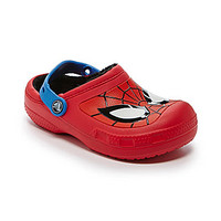 Crocs Boys' Spiderman Casual Clogs - Red