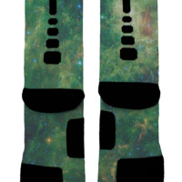 Sombrero Galaxy Custom Nike Elites