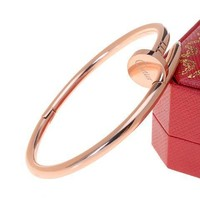 Cartier Woman Fashion LOVE Plated Bracelet For Best Gift