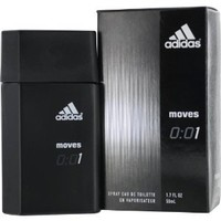 Adidas Moves 0:01 By Adidas Eau-de-toilette Spray for Men, 1.70-Fluid Ounce