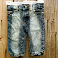 Babys Bleached Jeans by ShaliDesigns on Etsy