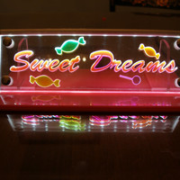 LED lighted night light Multicolor Sweet Dreams