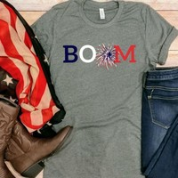 Boom! 4th of July Tee