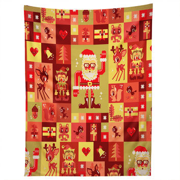 Chobopop Christmas Pattern Nr 2 Tapestry