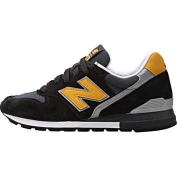 New Balance 996 Connoisseur Retro Ski - Black/Yellow