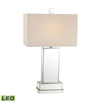 Mirror Block LED Table Lamp Mirror