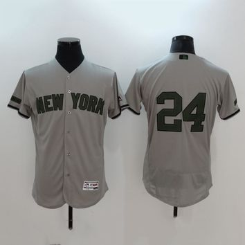 Men's MLB Buttons Baseball Jersey HY-17N11Y18D