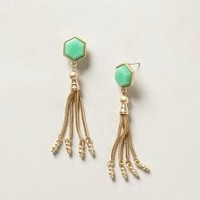 Dixie Canyon Drops by Anthropologie Green One Size Earrings