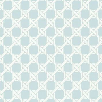 Echo Design™ Trellis Wallpaper Sample in Blue