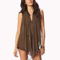 Tribal-Inspired Layered Top