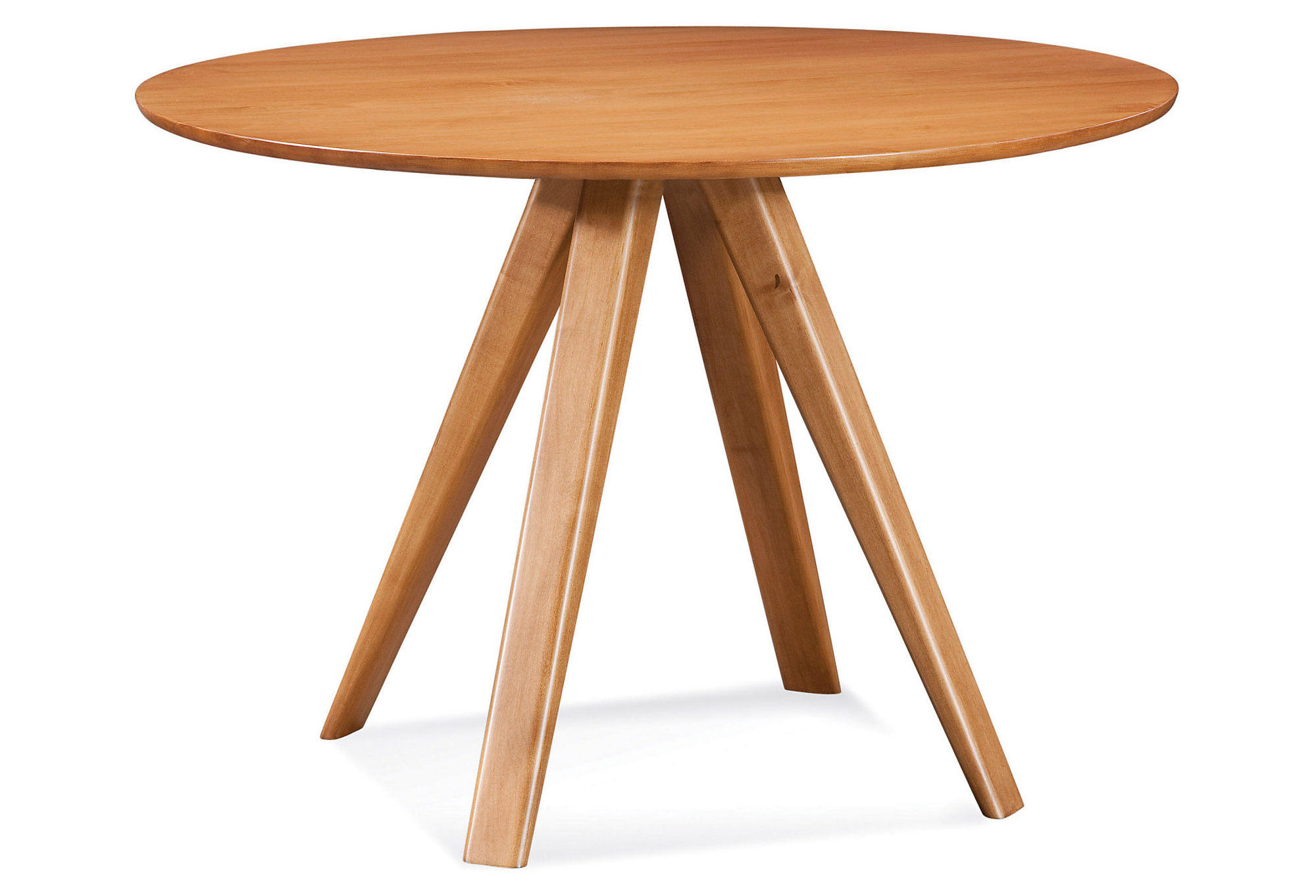 Avon Round Maple Dining Table Natural From One Kings Lane