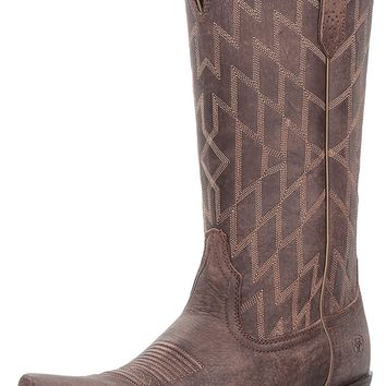 Ariat Women's Heritage Southwestern X Toe Work Boot