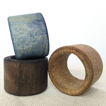 Wood Napkin Ring- USA made