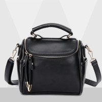 Genuine Leather Large Crossbody Shoulder Handbag Travel Bag