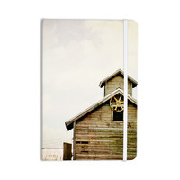 "Angie Turner ""Barn Top"" Wooden Everything Notebook"