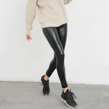 Winter High Waist Slim Leggings [9022842375]