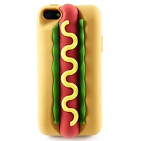 Hot Dog Phone Shell Case for Iphone5/5s