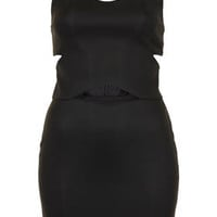 Peekaboo Bodycon Tunic - Dresses  - Clothing