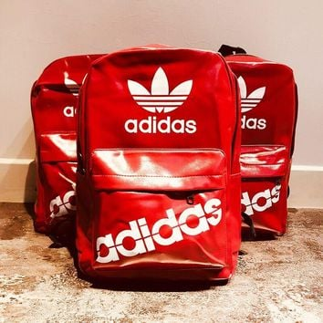 Adidas Vintage Red Backpack