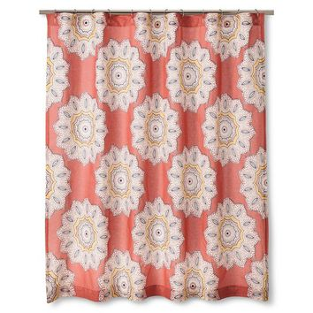 Mudhut™ Kari Shower Curtain - Multi-colored