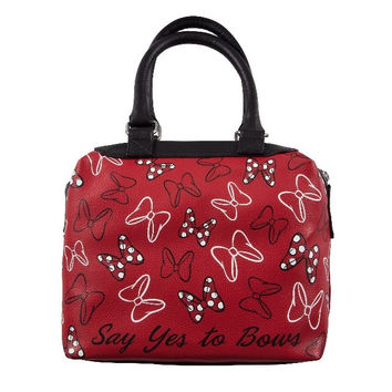 Disney Parks Minnie Mouse Beyond the Dot Satchel Bag New with Tag
