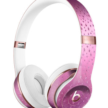 Faded Micro Pink Stars Full-Body Skin Kit for the Beats by Dre Solo 3 Wireless Headphones