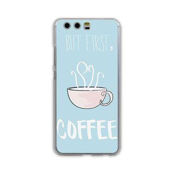Coffee phone Case for Huawei P10 P9 Lite P10 Plus P8 Ascend G7 G8 Mate 9
