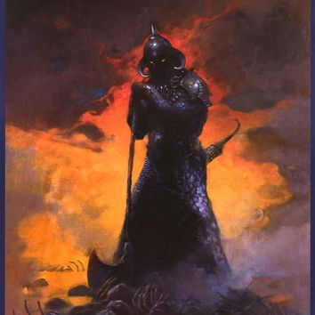Frank Frazetta Death Dealer III Poster 24x36