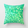 Aquatic Sea Throw Pillow by Lisa Argyropoulos