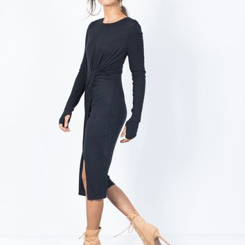 Casual Knotted Dress