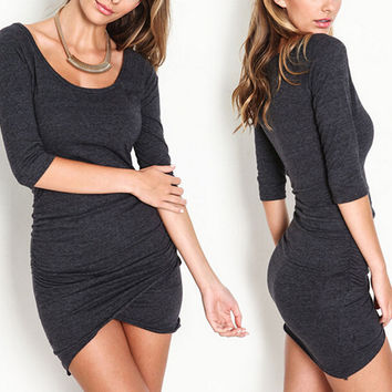 Womens Black Slim Dress Gift 40