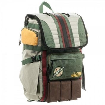 Limited Edition Boba Fett Laptop Backpack