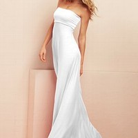 Foldover Strapless Maxi Dress - Victoria's Secret