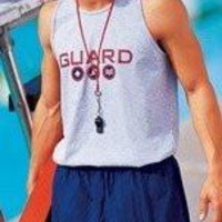 Lifeguard Tank Top - Grey