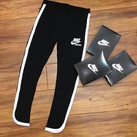 NIKE Fashion Print Exercise Fitness Gym Yoga Running Leggings Sweatpants