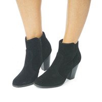 Get Moving- Black Bootie