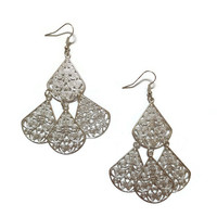 Boho Drop Earring Silver